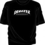 tshirt trasher nera completa